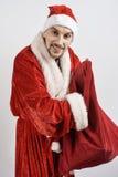 新圣诞老人 库存照片