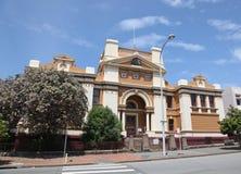 新堡法院大楼 图库摄影