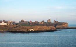 新堡海岸线,英国 免版税库存图片