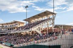 新墨西哥同位素棒球场 库存图片