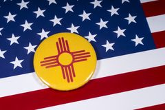 新墨西哥州在美国 库存图片