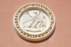 新墨西哥状态国会大厦, 免版税库存照片