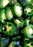 新墨西哥胡椒片式 免版税图库摄影