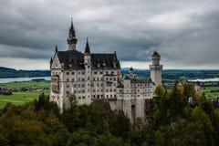 新天鹅堡城堡。 免版税图库摄影