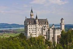 新天鹅堡城堡在拜仁,德国 免版税图库摄影