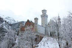 新天鹅堡城堡 图库摄影