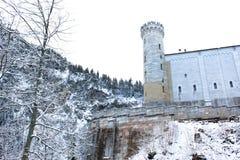 新天鹅堡城堡 免版税库存图片