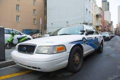 新奥尔良在法国街区,新奥尔良的警车 库存图片