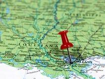 新奥尔良在路易斯安那,美国 免版税图库摄影