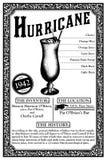 新奥尔良奠酒或鸡尾酒的历史 库存例证