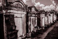 新奥尔良拉斐特公墓门 免版税库存照片