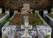 新奥尔良拉斐特公墓 免版税库存照片