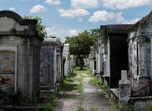 新奥尔良拉斐特公墓 免版税库存图片