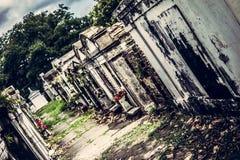 新奥尔良拉斐特公墓 库存图片