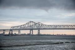 新奥尔良桥梁 免版税库存图片