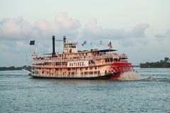 新奥尔良汽船 库存图片