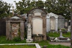 新奥尔良-在地面公墓上 免版税库存图片