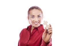 新女商人 免版税库存图片