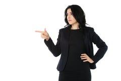 新女实业家 免版税图库摄影