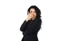 新女实业家 免版税库存照片