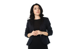 新女实业家 库存照片