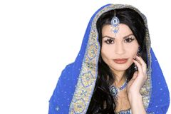 新娘印地安人 库存照片