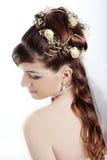 新娘发型 图库摄影
