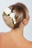 新娘发型 库存照片