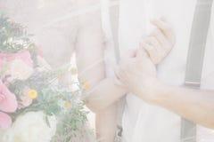 新娘和新郎的现有量 艺术摄影 免版税库存图片