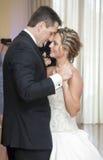新娘和新郎舞蹈 库存图片
