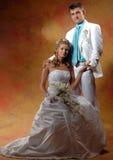 新娘和新郎 免版税库存图片