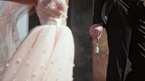 新娘和Rroom婚礼之日 影视素材