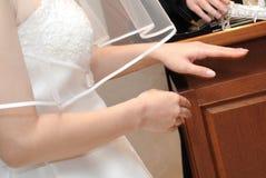 新娘图象 库存图片