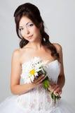 新娘在工作室 库存图片
