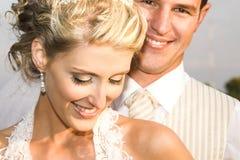 新娘夫妇 免版税图库摄影