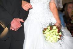 新娘夫妇 免版税库存照片
