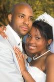新娘夫妇 库存图片