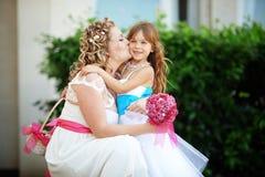 新娘女傧相 库存图片