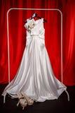 新娘婚装 免版税库存图片
