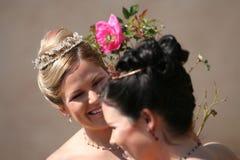 新娘年轻人 库存图片