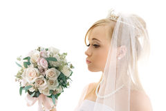 新娘年轻人 免版税库存照片