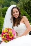新娘微笑 免版税库存照片