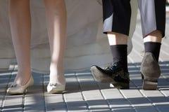 新娘新郎 免版税图库摄影