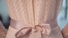 新娘有一种美好的发型,设计师耳环 影视素材