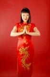 新娘汉语 免版税库存照片