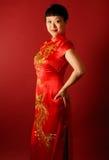 新娘汉语 库存照片