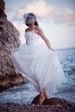 新娘海岸海运 库存照片