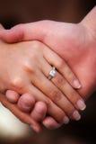 新娘环形 库存照片