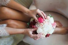 新娘的早晨 免版税库存照片