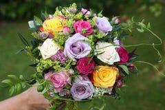 新娘的花束 库存图片